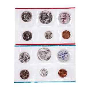 1964 P & D U.S. Mint Coin Sets