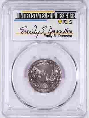 2019-W Frank Church River of No Return NP Quarter Coin