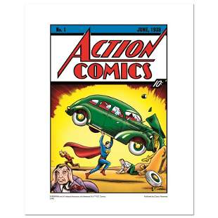 """DC Comics """"Superman #1"""" Limited Edition Giclee on Paper"""