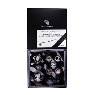2013 United States Limited Edition Silver Proof Set
