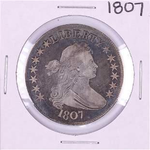 1807 Draped Bust Half Dollar Coin