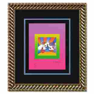 """Peter Max """"Cosmic Runner on Blends"""" Limited Edition"""
