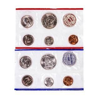 1960 P & D U.S. Mint Coin Sets