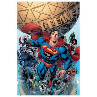 """DC Comics """"Superman #19"""" Limited Edition Giclee on"""