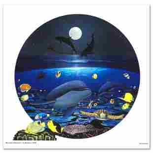 "Wyland ""Moonlight Celebration"" Limited Edition Giclee"