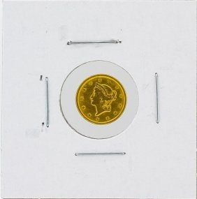 1851 $1 T-1 Liberty Head Gold Coin