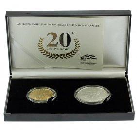 2006 W American Eagle 20th Anniversary Gold & Silver