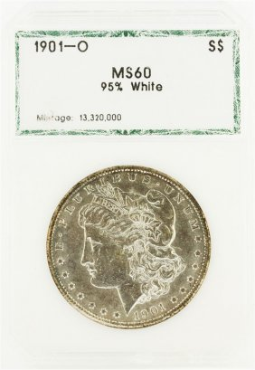 1901-o $1 Morgan Silver Dollar