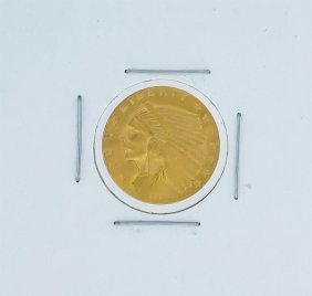 1929 $2.50 Bu Indian Head Quarter Eagle Gold Coin