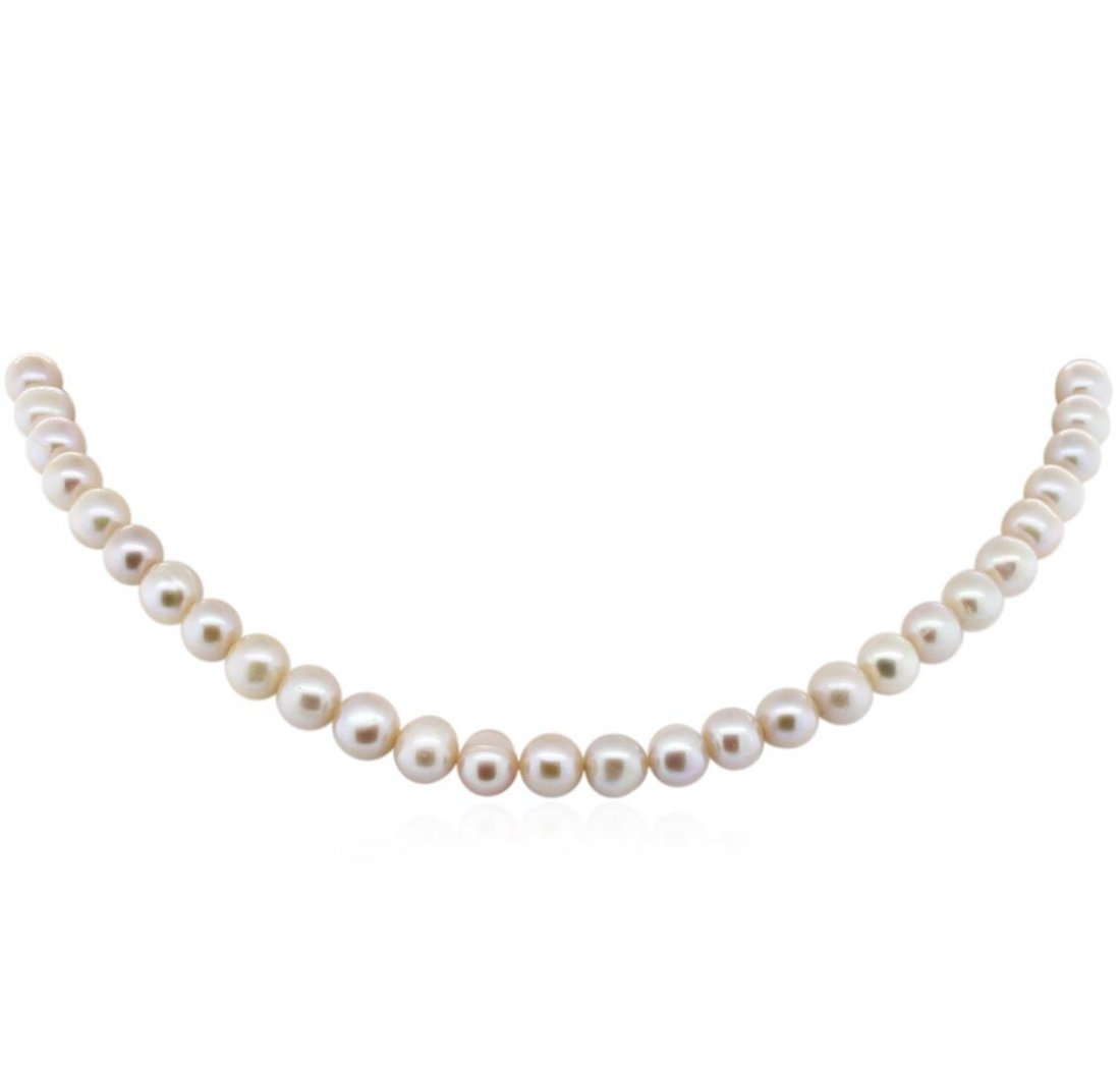 7-8.25MM Cultured Pearl Loose Strand Necklace
