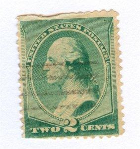 1887 United States George Washington Postage Stamp