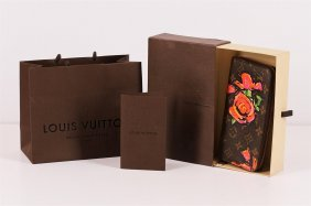 Authentic Louis Vuitton Limited Edition Roses Stephen