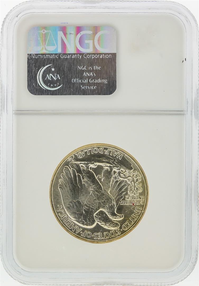 1945 Walking Liberty Half Dollar Coin NGC MS66 - 2