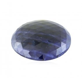 Gia Certified 39.00ct Natural Unheated Sapphire