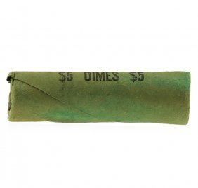 Roll Of (50) 1964 Brilliant Uncirculated Roosevelt