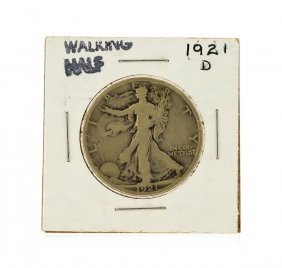 1921-d Walking Liberty Half Dollar