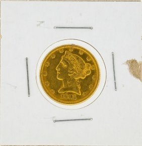 1881 $5 Liberty Head Gold Coin Xf