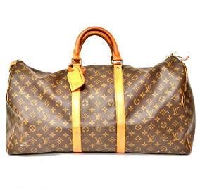 Authentic Vintage Louis Vuitton 60cm Keepall Brown