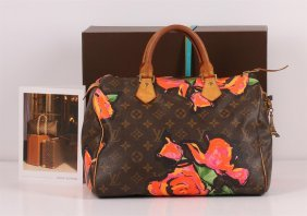 Authentic Louis Vuitton Limited Edition Stephen Sprouse
