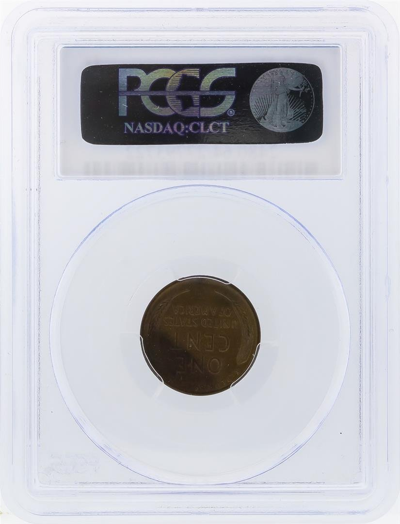 1915-D Lincoln Wheat Penny PCGS Graded MS64BN - 2