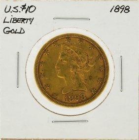 1898 $10 Liberty Head Gold Coin