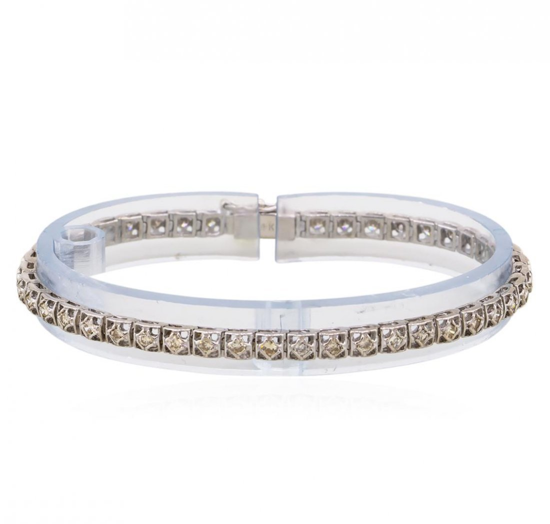 14KT White Gold 2.00ctw Diamond Tennis Bracelet