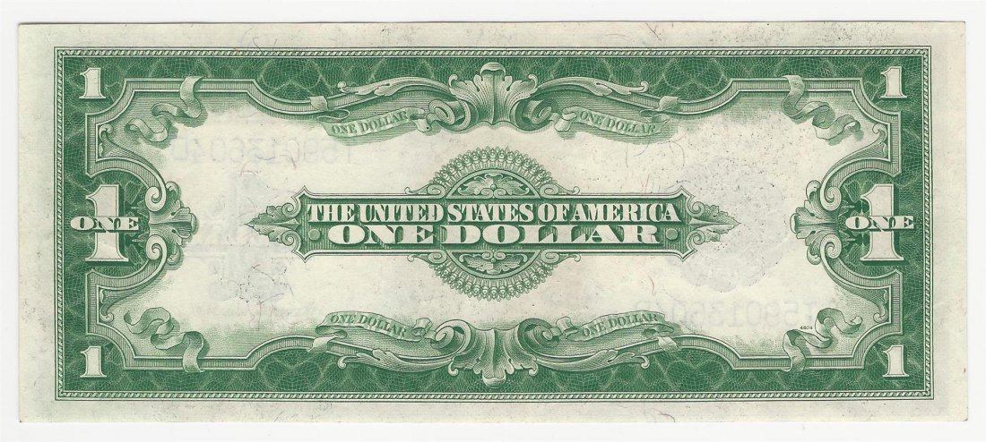 1923 $1 Large Silver Certificate Note - 2