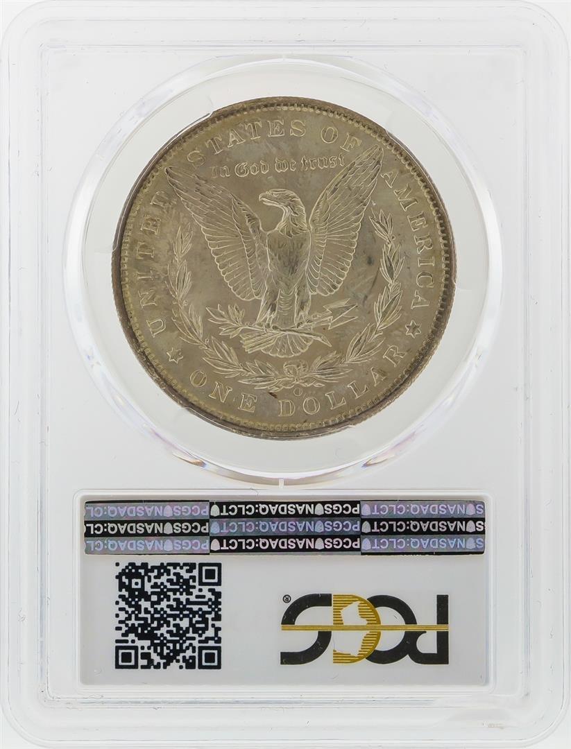 1899-O $1 Morgan Silver Dollar PCGS Graded MS65 - 2