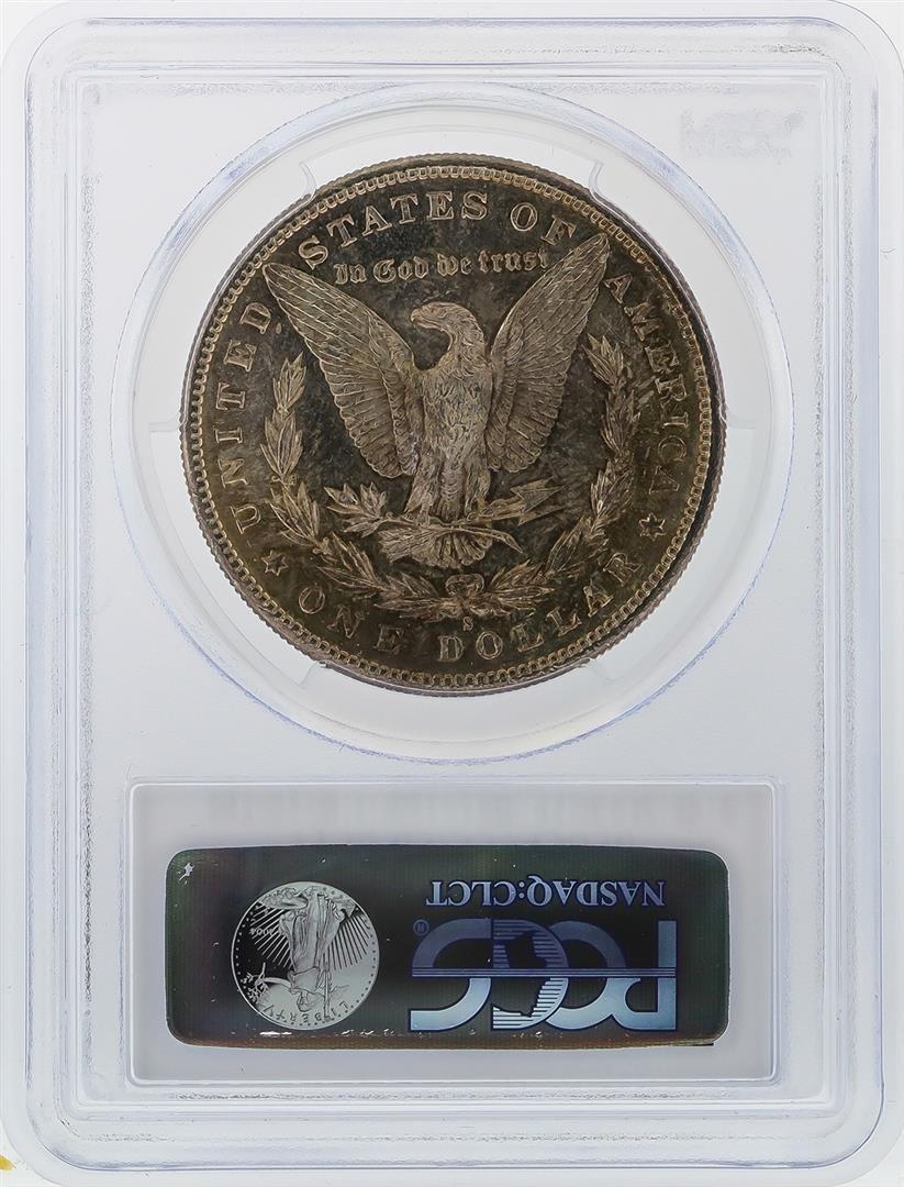 1881-S $1 Morgan Silver Dollar PCGS Graded MS63 - 2