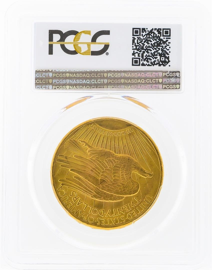 1927 $20 St. Gaudens Double Eagle Gold Coin PCGS MS64 - 2