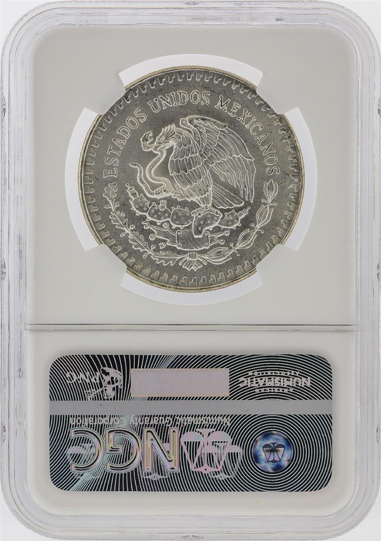 1983-MO Mexico 1 Onza Libertad Silver Coin NGC MS66 - 2