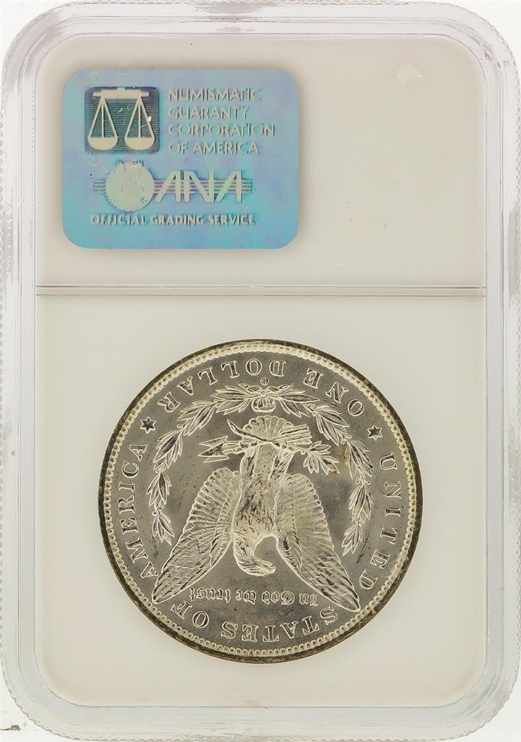 1885-O $1 Morgan Silver Dollar NGC Graded MS64 - 2