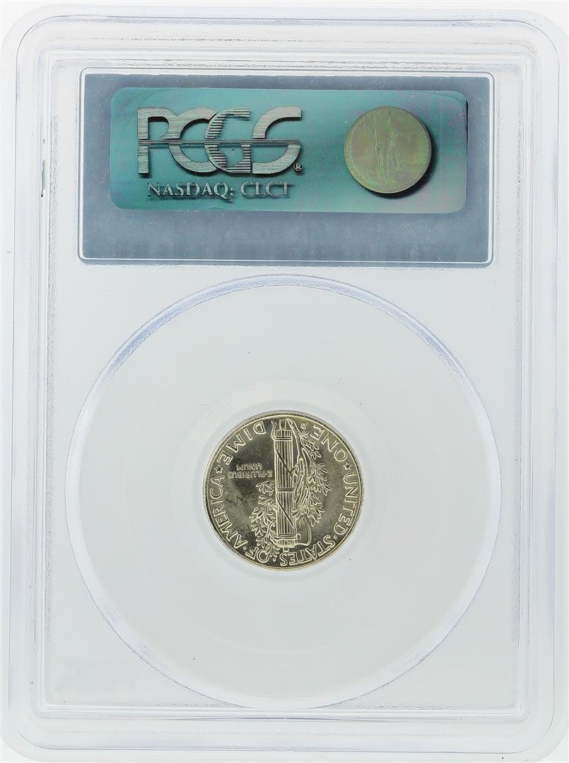 1944-D Mercury Dime PCGS Graded MS66FB - 2