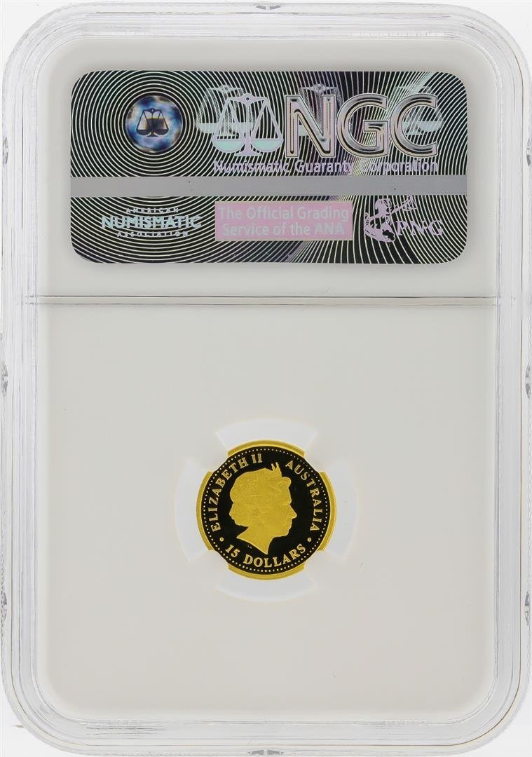 2006-P $15 Australia Koala Gold Coin NGC PF70 Ultra - 2