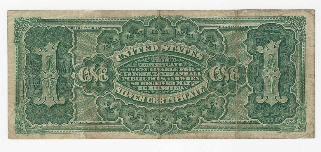 1886 $1 Martha Washington Large Silver Certificate Note - 2