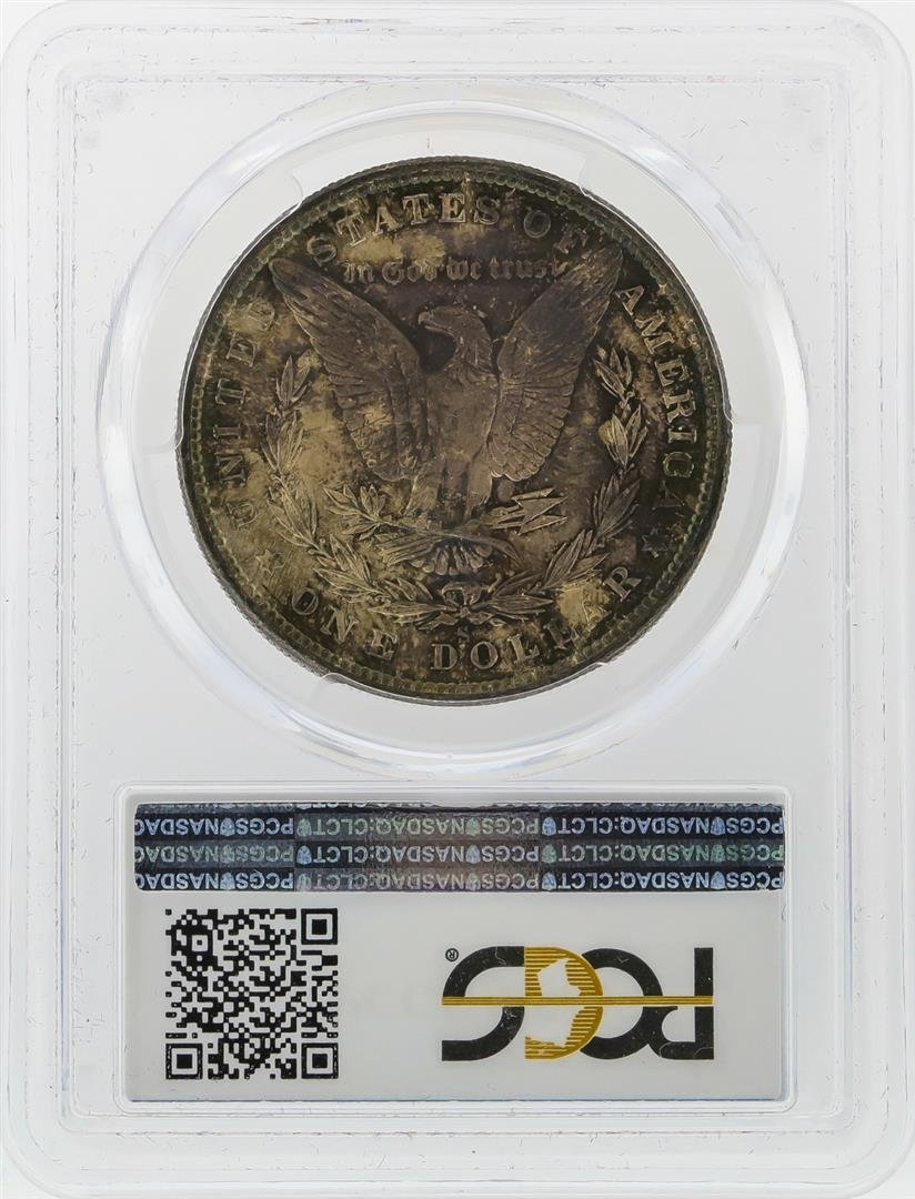 1880-S $1 Morgan Silver Dollar PCGS Graded MS64 - 2