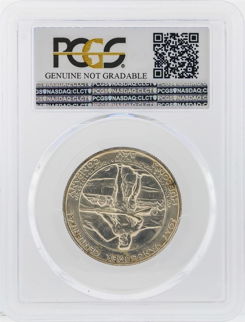 1925  Fort Vancouver Centennial Half Dollar PCGS UNC - 2