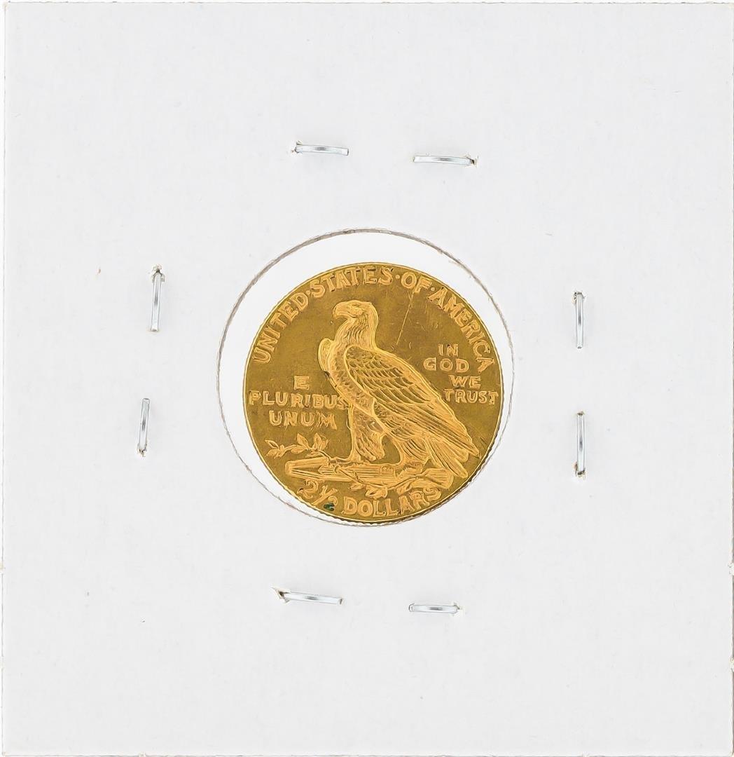 1915 $2 1/2 Indian Head Quarter Eagle Gold Coin BU - 2