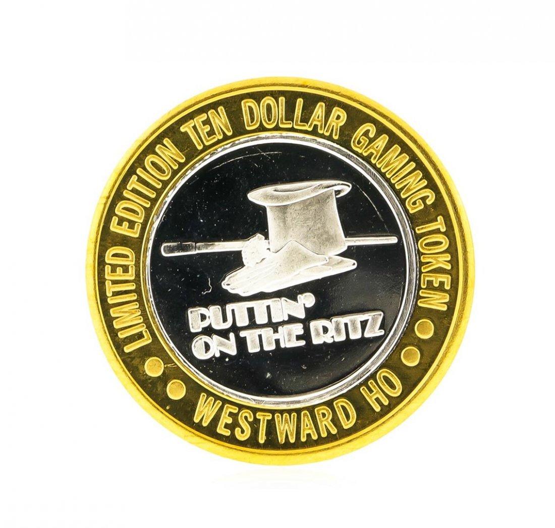 Westward Hotel Las Vegas $10 Casino Gaming Token .999 - 2