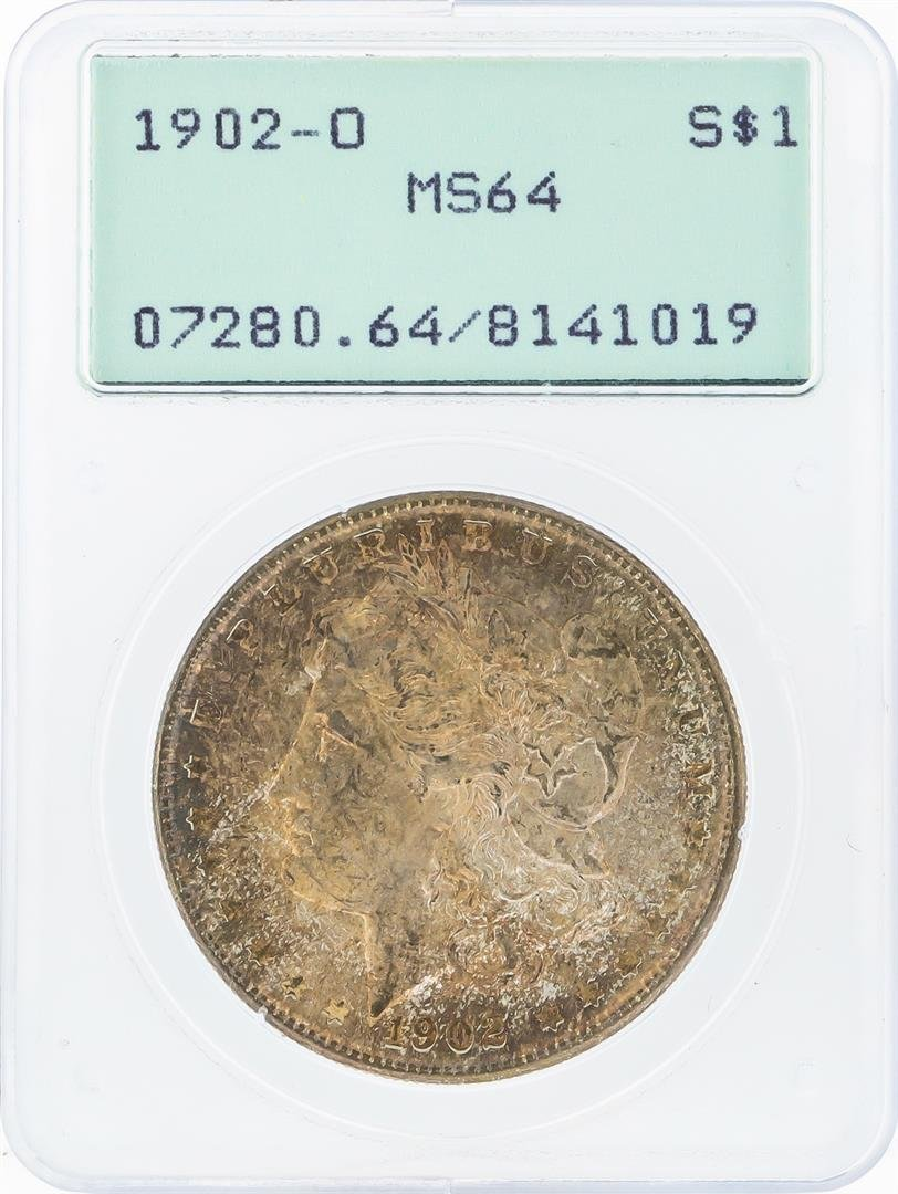 1902-O $1 Morgan Silver Dollar PCGS Graded MS64