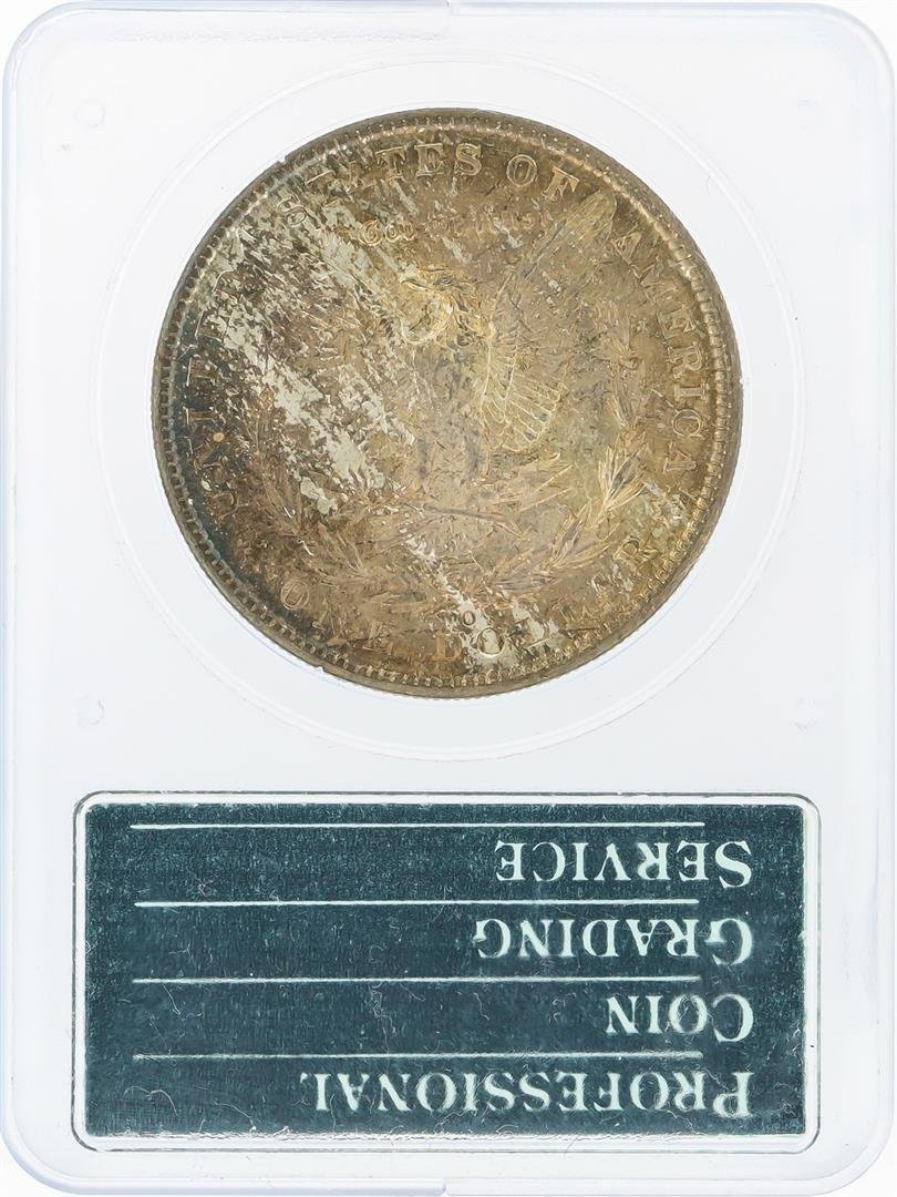 1902-O $1 Morgan Silver Dollar PCGS Graded MS64 - 2