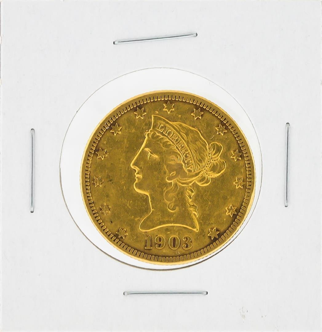 1903-S $10 Liberty Head Eagle Gold Coin