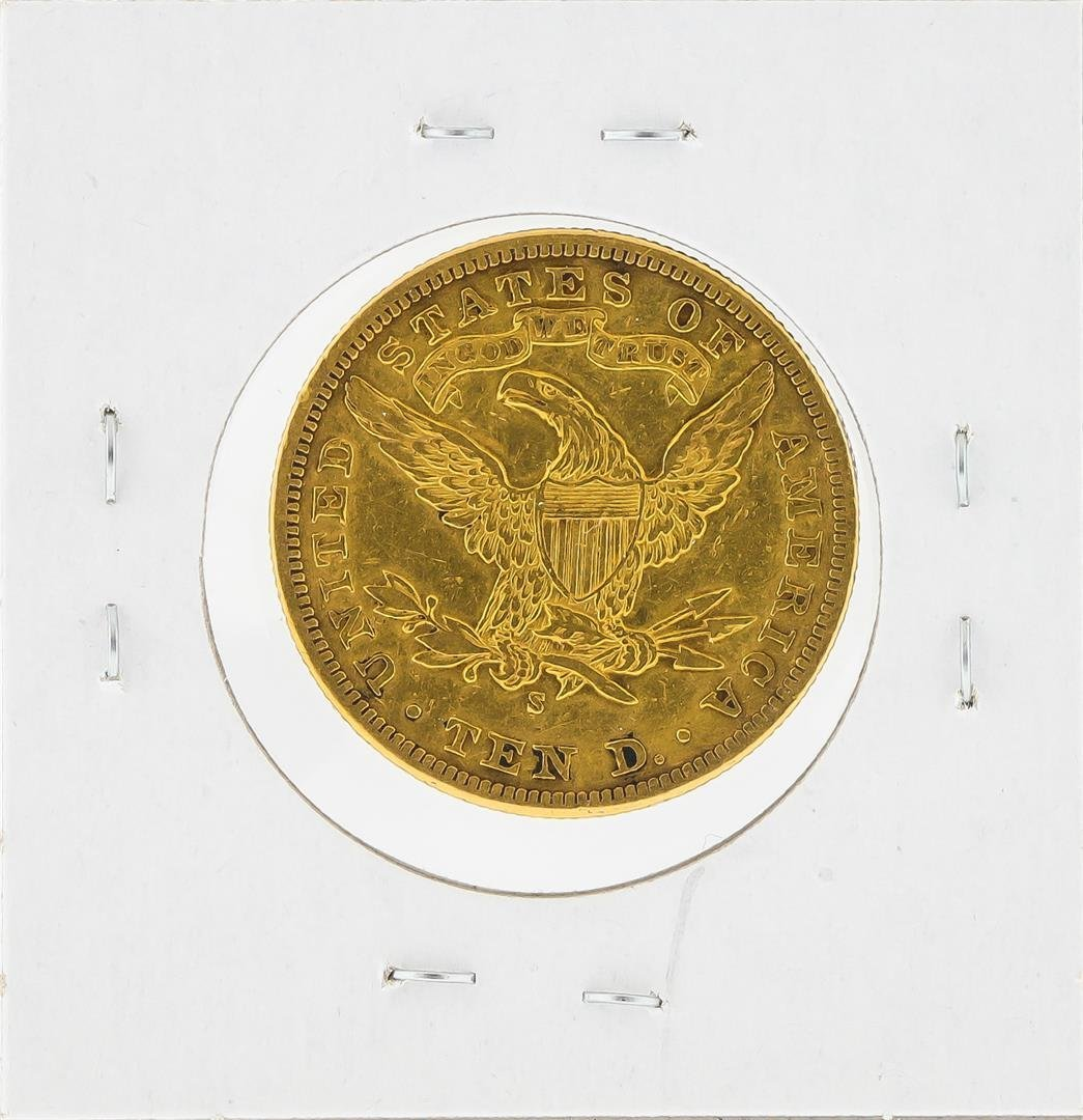 1903-S $10 Liberty Head Eagle Gold Coin - 2