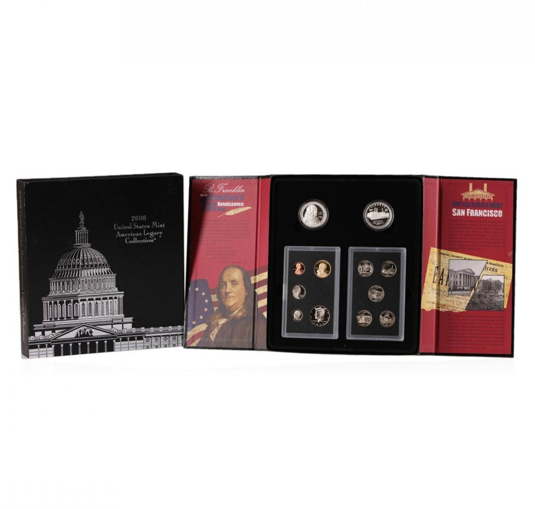 2006 United States Mint American Legacy Coin Collection