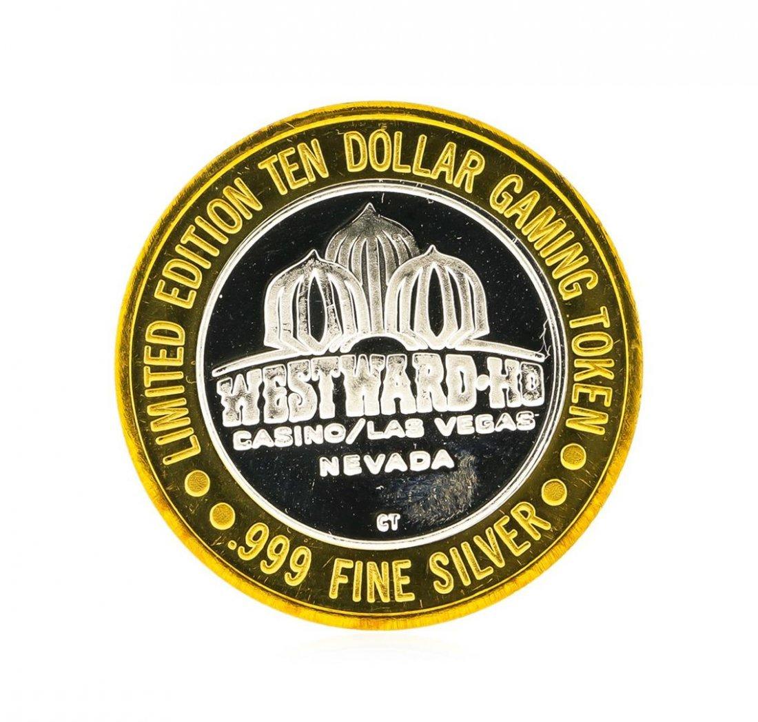 Westward Hotel Las Vegas $10 Casino Gaming Token .999