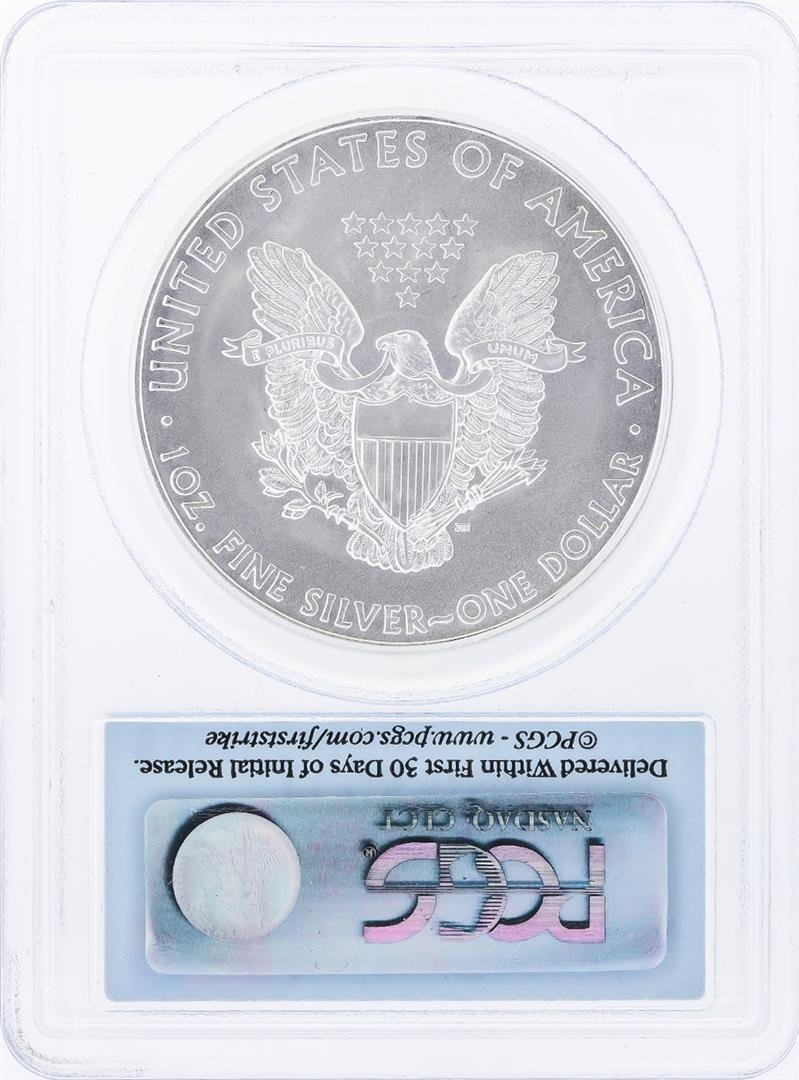 2009 $1 American Silver Eagle Coin PCGS Graded MS69 - 2