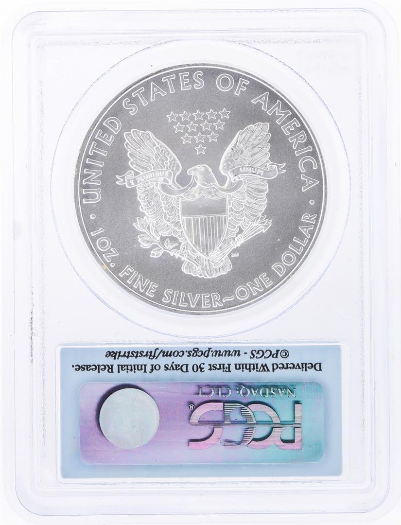 2010 $1 American Silver Eagle Coin PCGS Graded MS69 - 2