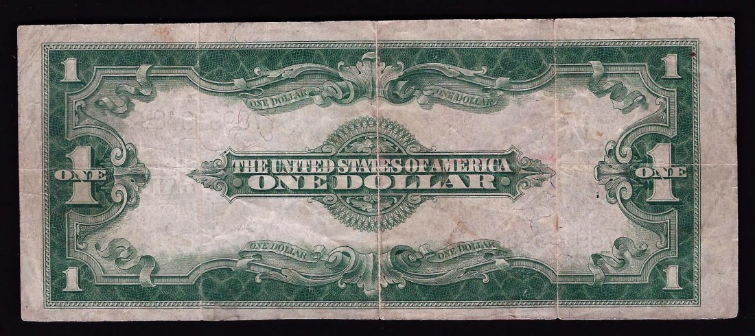 1923 $1 Large Size Silver Certificate Bank Note - 2