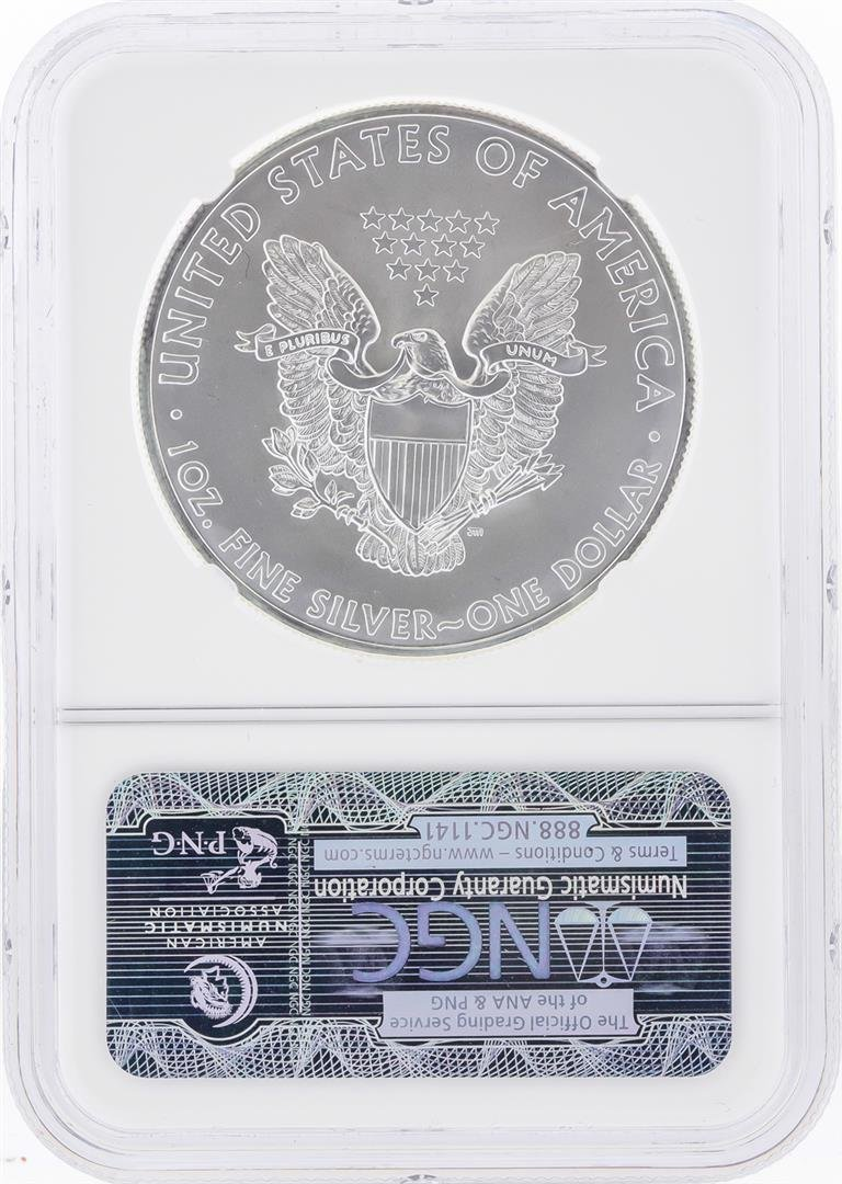 2013-S $1 American Silver Eagle Coin NGC Graded MS69 - 2