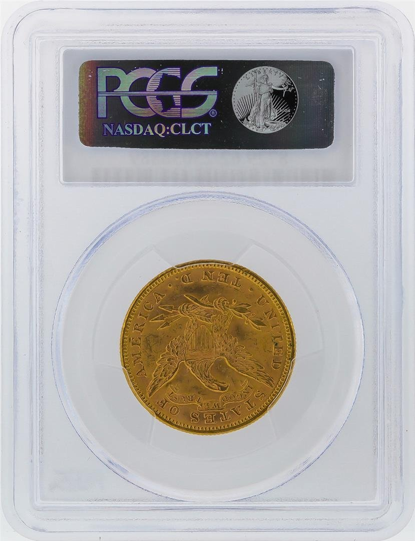 1894 $10 Liberty Head Gold Coin PCGS Graded MS62 - 2